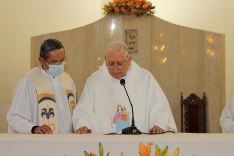 P. Hugo Saldaño celebra sus 60 años de ministerio sacerdotal