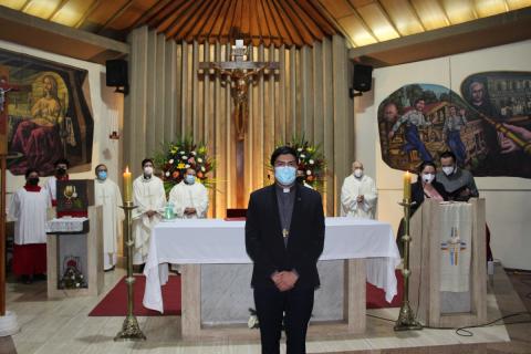 Celebración tercer aniversario sacerdotal P. Eduardo Oviedo