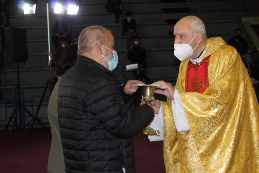 Celebración 60 años de sacerdocio P. Alfonso Horn