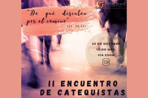 Inscripciones abiertas para segundo Encuentro de Catequistas