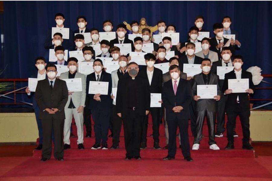 Salesianos Alameda realiza titulación de estudiantes TP