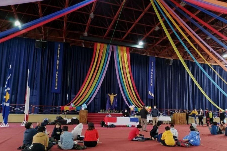 Salesianos Alameda vive Encuentro Saltimbanqui